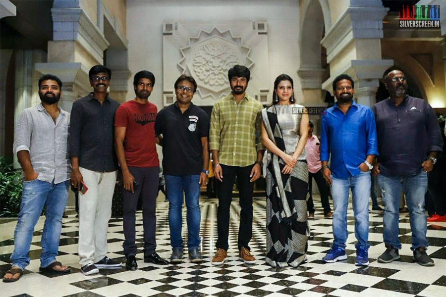 Sivakarthikeyan, Samantha, Simran At The Seemaraja Trailer Launch