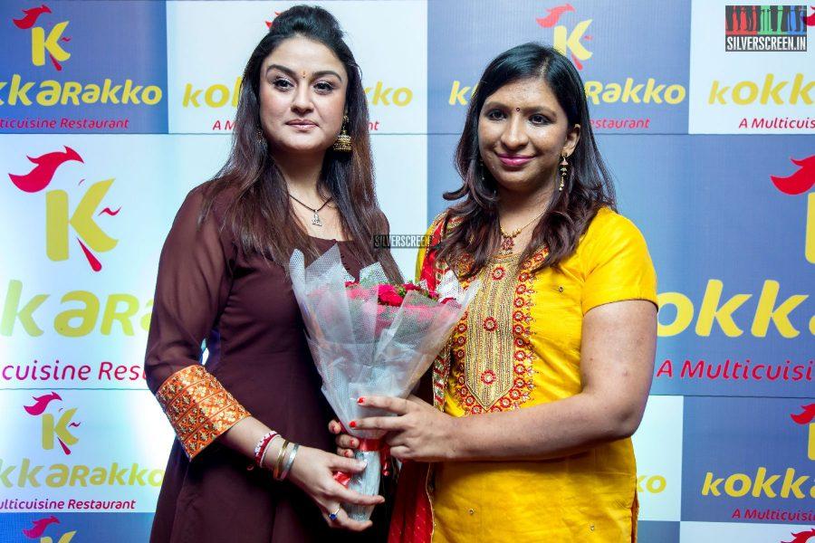 Sonia Agarwal At A Restaurant Launch In Chennai