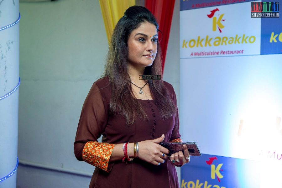 Sonia Agarwal At A Restaurant Launch In Chennai