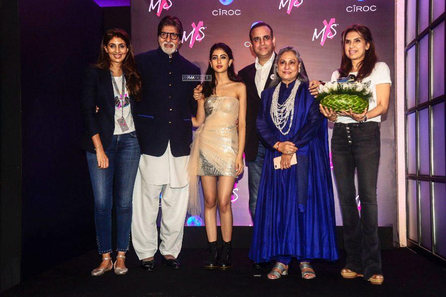 Amitabh Bachchan At The Launch Of Shweta Bachchan Nanda's Fashion Brand