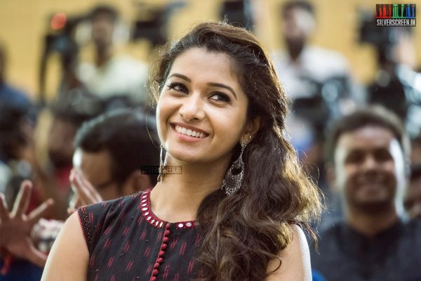 Priya Bhavani Shankar At The Kadaikutty Singam Success Meet