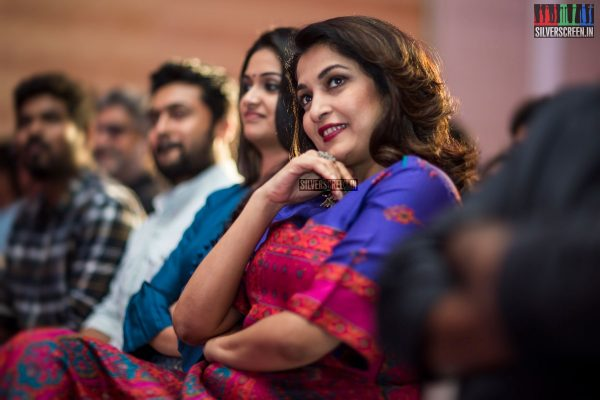 Ramya Krishnan At The Thaanaa Serndha Koottam Press Meet