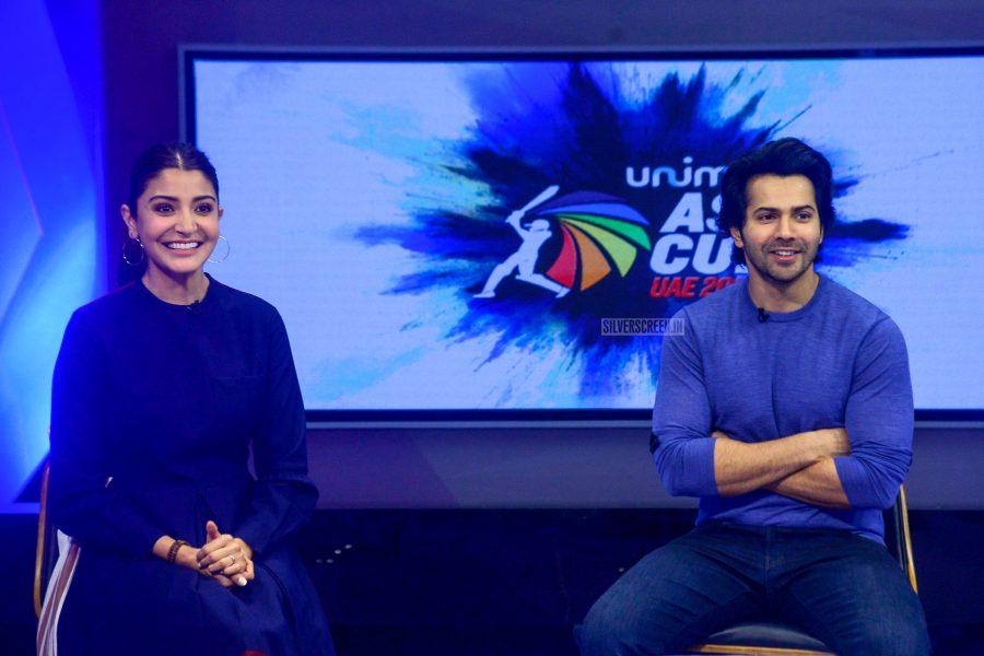 Varun Dhawan And Anushka Sharma Promote Sui Dhaaga