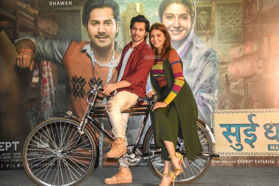 Varun Dhawan, Anushka Sharma Promote 'Sui Dhaaga – Made In India'
