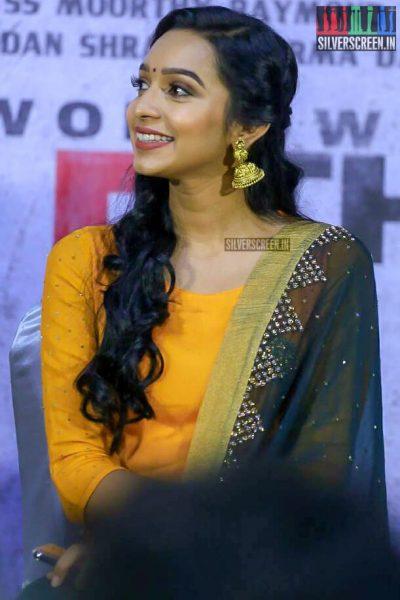 Sanchana Natrajan At The NOTA Press Meet