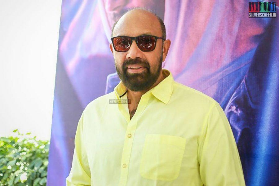 Sathyaraj At The NOTA Press Meet