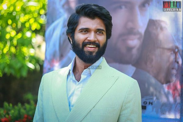 Vijay Devarakonda At The NOTA Press Meet