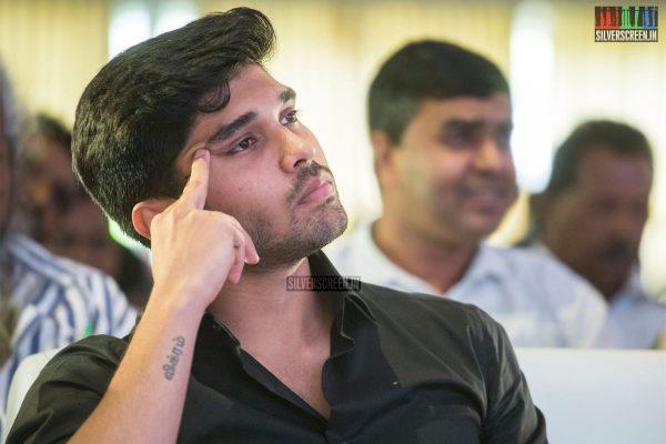 Dhruv Vikram At The Varma Teaser Launch