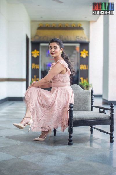 Megha Chowdhury At The Varma Teaser Launch