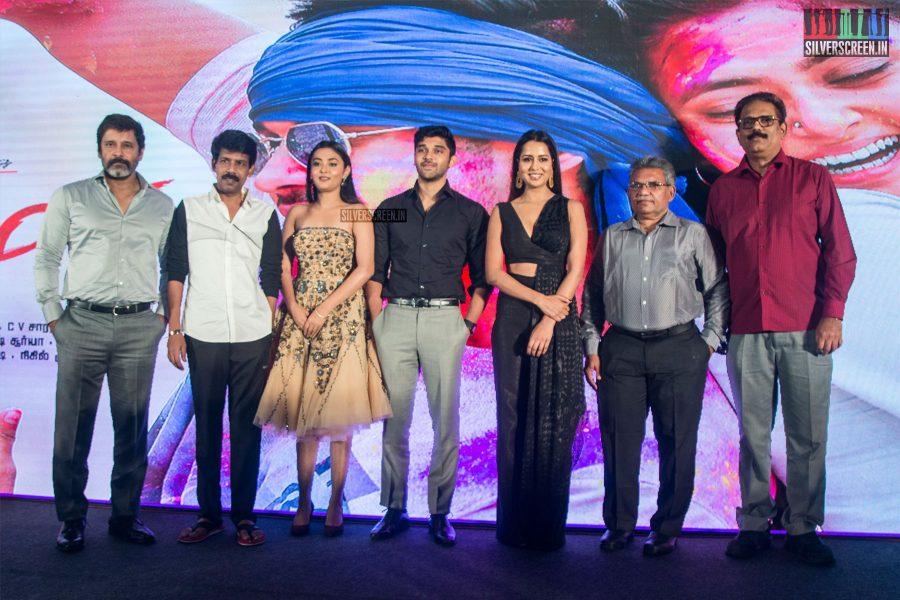 Vikram, Dhruv Vikram, Bala At The Varma Teaser Launch