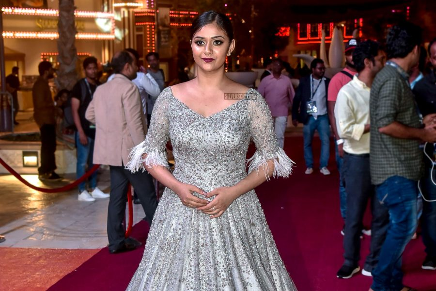 Keerthy Suresh At The SIIMA Award 2018-Day 1