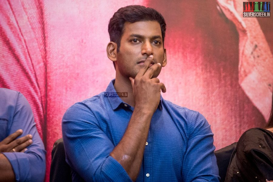 Vishal At The Sandakozhi 2 Audio Launch