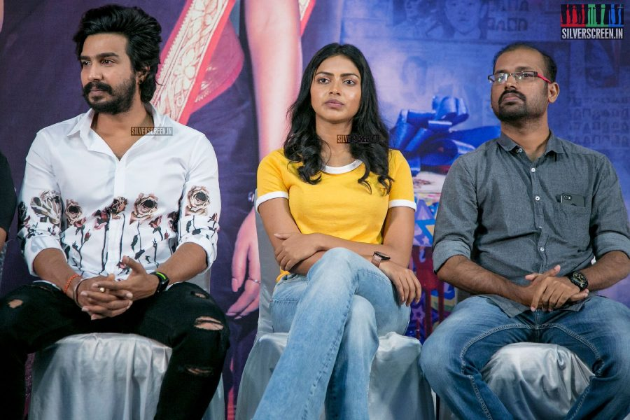 Amala Paul, Vishnu Vishal At The Ratsasan Audio Launch