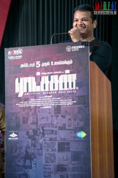 M Ghibran At The Ratsasan Audio Launch