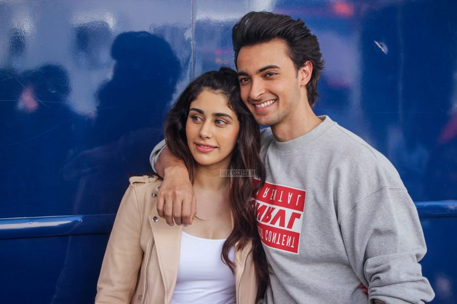 Warina Hussain & Aayush Sharma Promote Loveratri