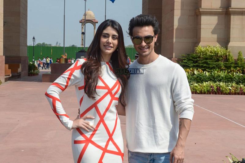 Warina Hussain And Aayush Sharma Promote Loveyatri