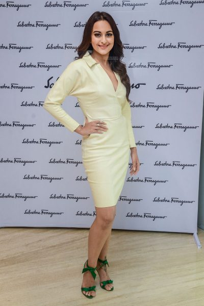 Sonakshi Sinha At A Store Launch