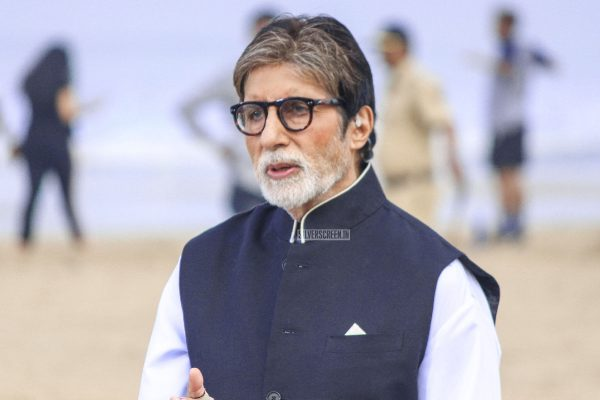 Amitabh Bachchan At The 'Banega Swachh India' Event