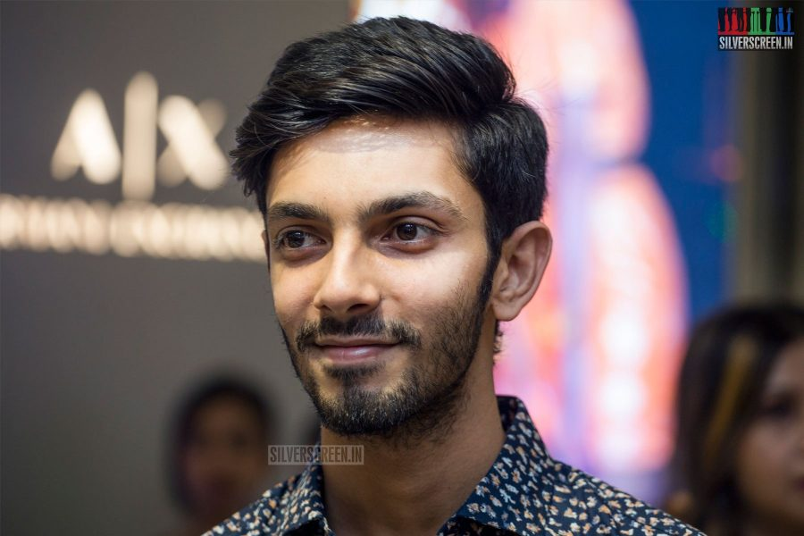 Anirudh Ravichander At A Store Launch
