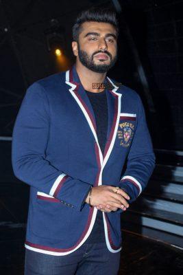 Arjun Kapoor Promotes Namaste England On The Sets Of Indian Idol