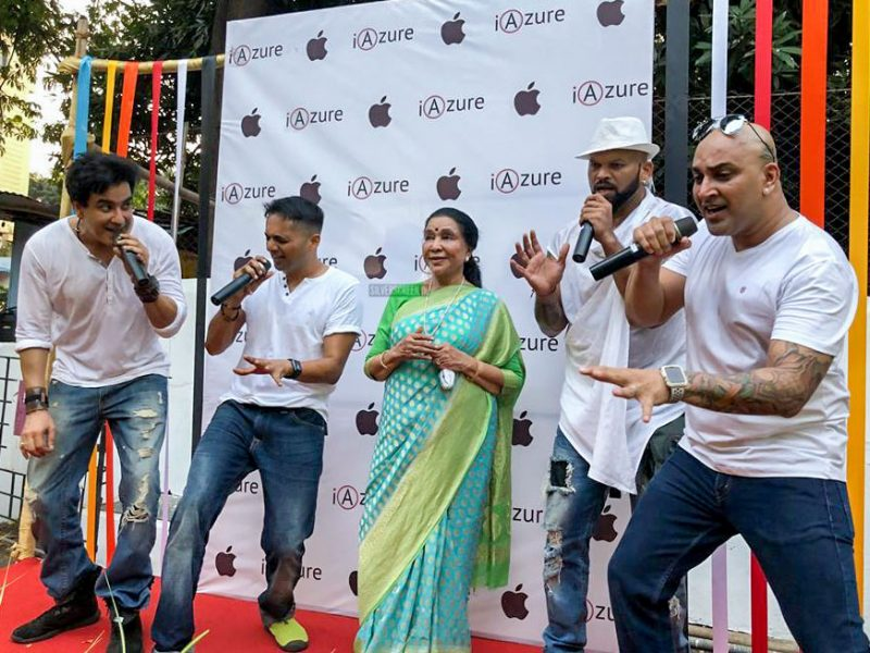 Asha Bhosle At The Launch Of 'Dil Sarphira' Track