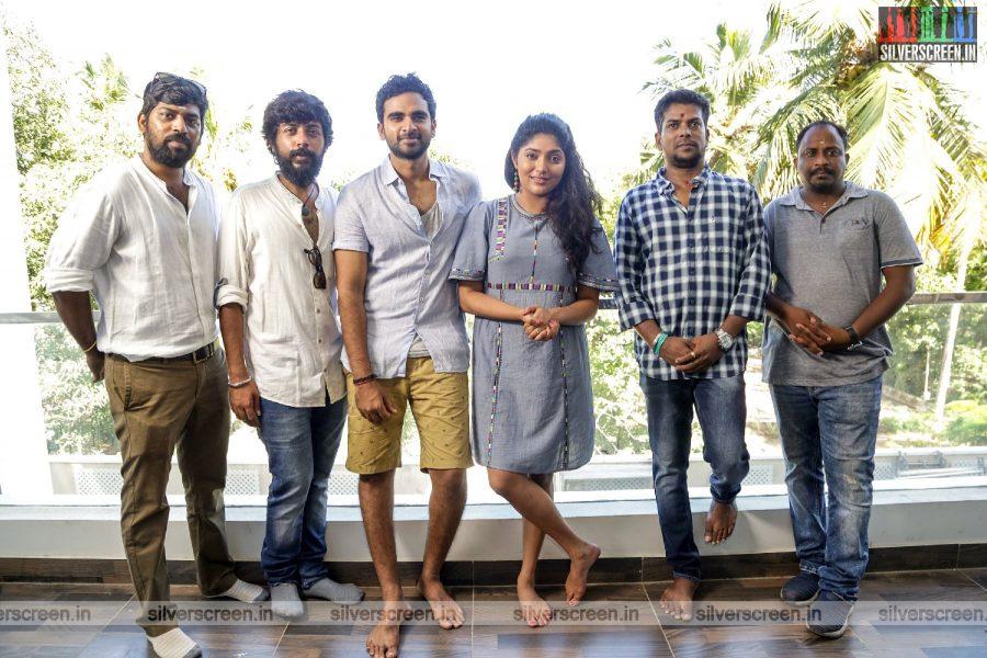 Ashok Selvan & Samyuktha Hornad At The Redrum Movie Launch