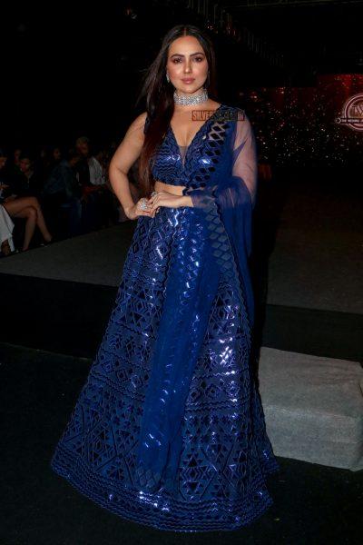 Sana Khan Walks The Ramp For Wedding Junction
