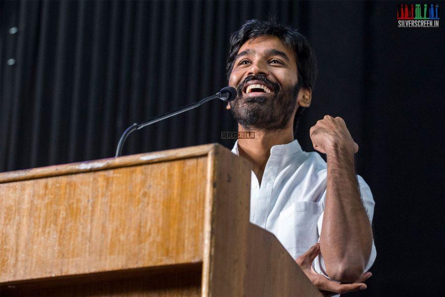 Dhanush At The Vada Chennai Press Meet