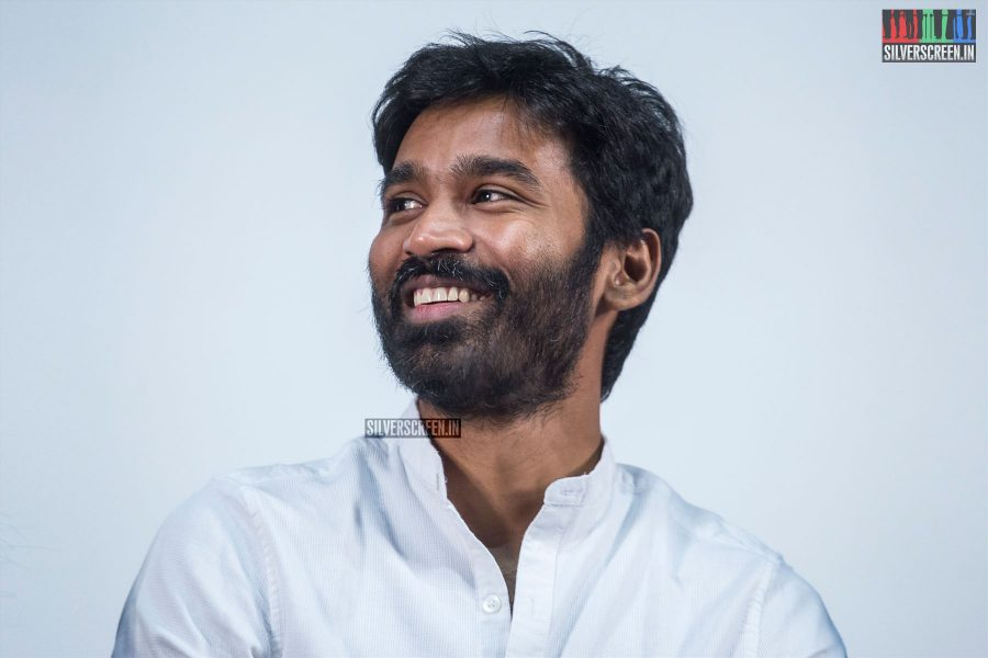 Dhanush At The Vada Chennai Press Meet