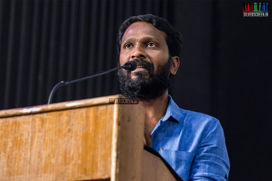 Vetrimaaran At The Vada Chennai Press Meet