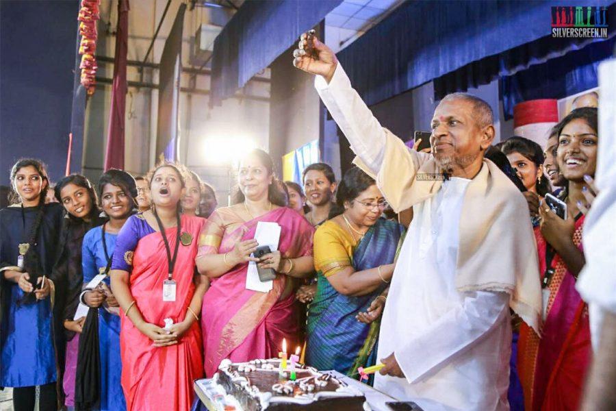 Dr. MGR Janaki College Of Arts & Science for Women Celebrates Ilaiyaraaja's 75th Birthday