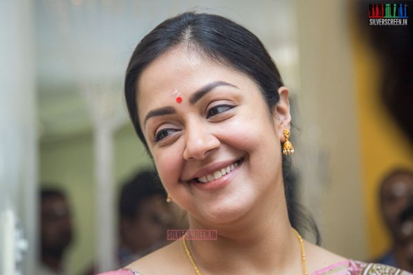 Jyothika At The Kaatrin Mozhi Movie Launch