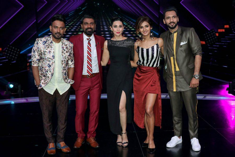 Karisma Kapoor, Remo D'Souza On The Sets Of 'Dance Plus 4'
