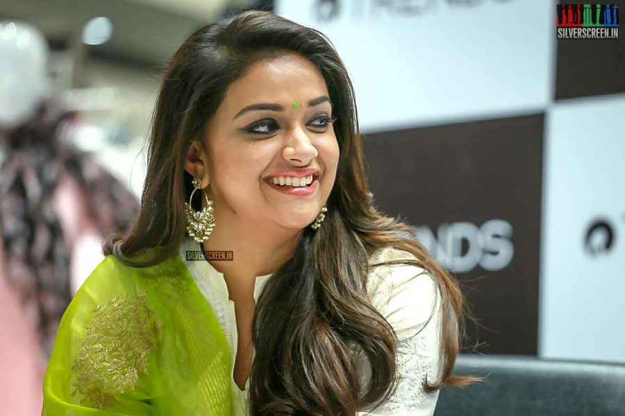 Keerthy Suresh  At The Launch Of A Fashion Store In Chennai