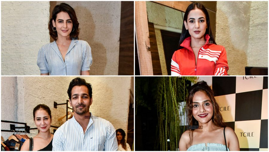 Celebrities At A Boutique Launch