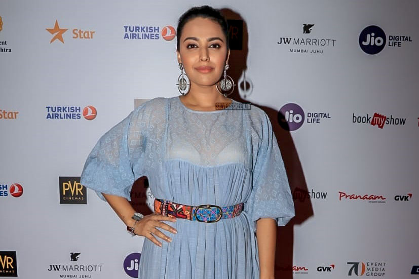 Swara Bhaskar At The 20th Jio MAMI Film Festival 2018 - Day 2