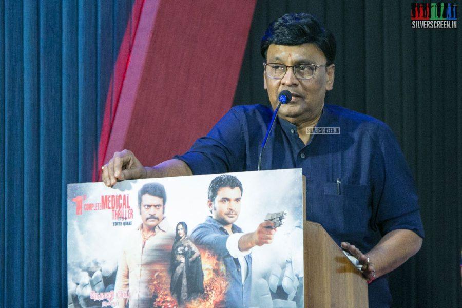 K Bhagyaraj At The Owdatham Press Meet
