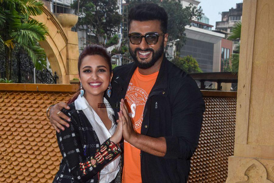 Parineeti Chopra & Arjun Kapoor Promote Namaste England