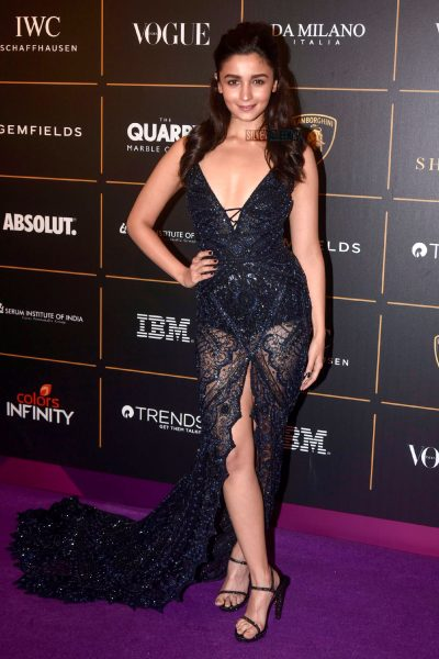 Alia Bhatt At The Vogue Women Of The Year 2018 Awards