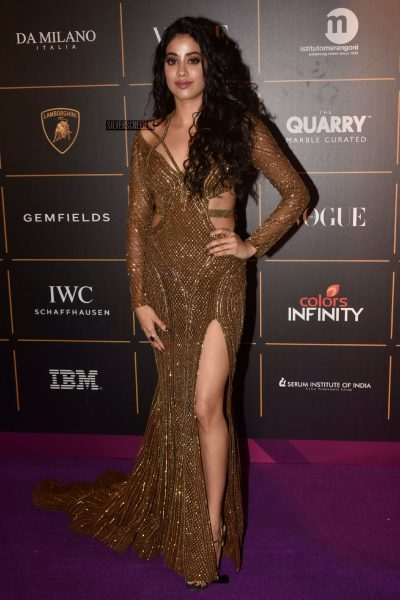 Jhanvi Kapoor At The Vogue Women Of The Year 2018 Awards