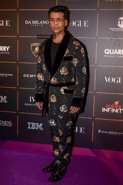 Karan Johar At The Vogue Women Of The Year 2018 Awards