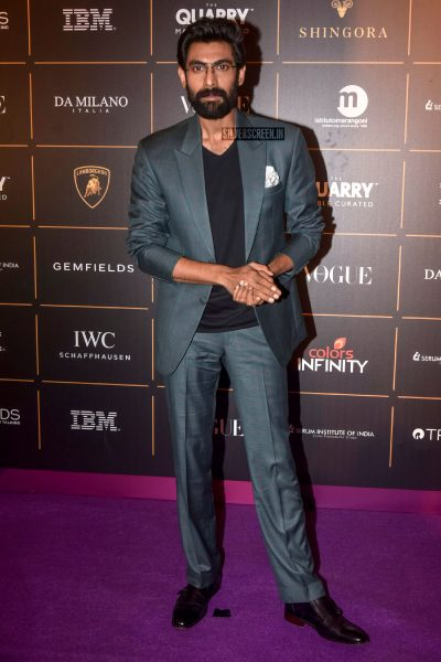 Rana Daggubati At The Vogue Women Of The Year 2018 Awards