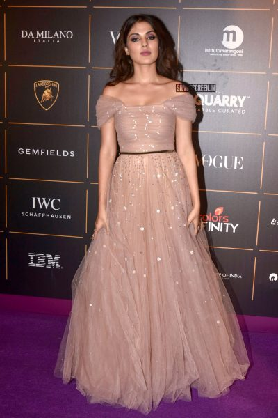 Rhe Chakraborty At The Vogue Women Of The Year 2018 Awards
