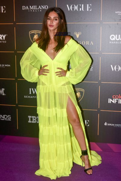 Celebrities At The Vogue Women Of The Year 2018 Awards