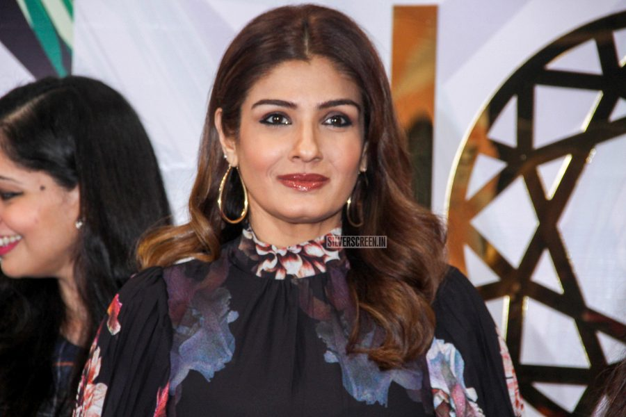Raveena Tandon At The Inauguration Of An Exhibition