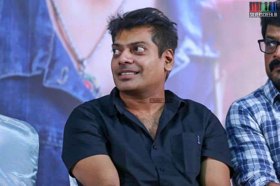 Nothin Sathya At The Jarugandi Press Meet