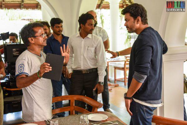Sarkar Movie Stills - Vijay, AR Murugadoss