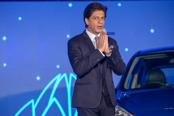 Shah Rukh Khan At A Car Launch