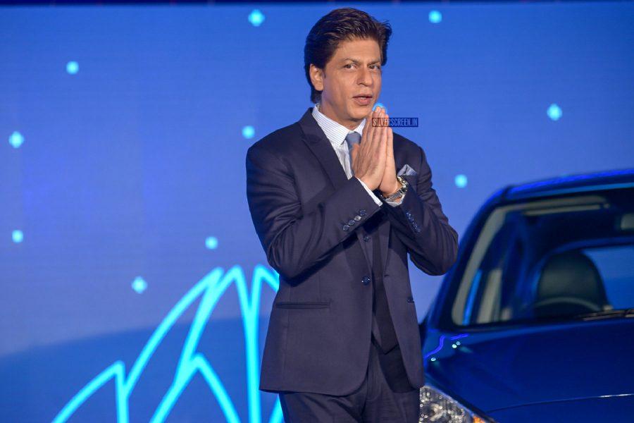 Shah Rukh Khan At A Car Launch