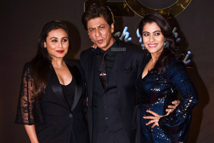 Shah Rukh Khan, Rani Mukerji, Kajol At The 20th Year Celebration Of Kuch Kuch Hota Hai